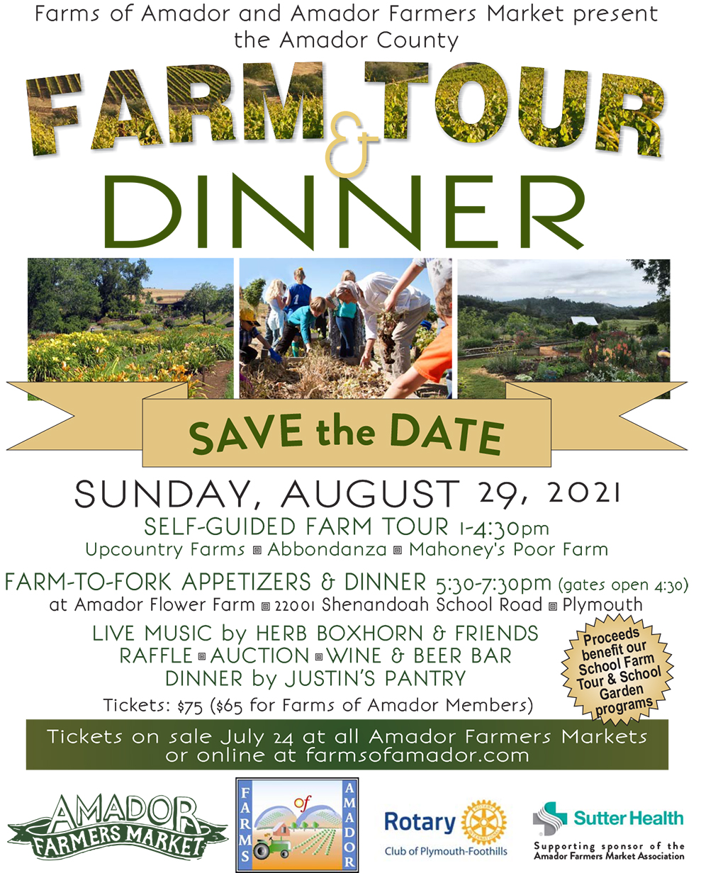 Farm Tour Dinner 2021