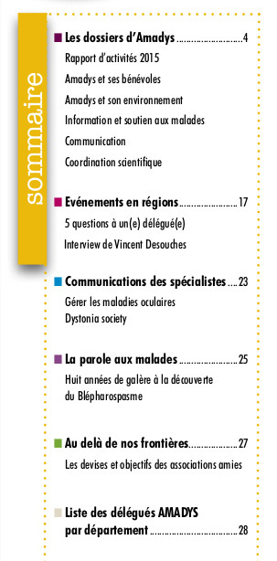 sommaire bulletin 73