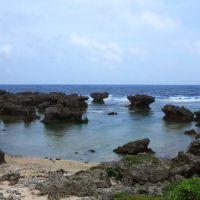 沖永良部島のカルスト地形