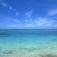 南国・与論島の青い海(2)