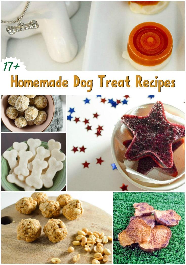 17 Homemade Dog Treats Recipe Roundup A Magical Mess
