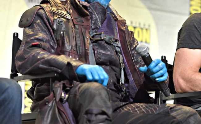 Silly Michael Rooker Interview As Yondu On Set Of