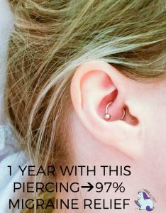 also migraine piercing year results after daith for headaches rh amagicalmess