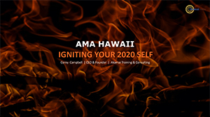 Igniting Your 2020 Self