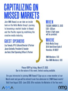 capitalizing on missed markets flier