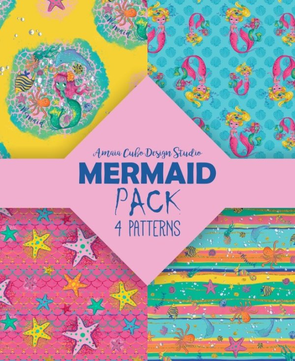 MERMAID PACK - AMAIA CUBO DESIGN STUDIO