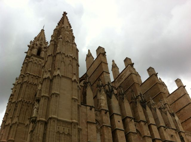 Dettaglio della Cattedrale di Palma