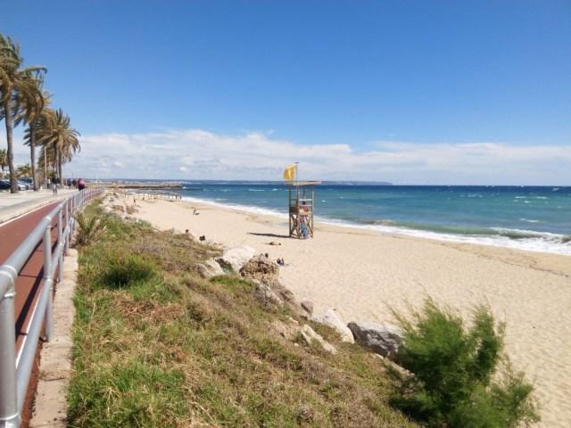Playa de Palma con bagnino