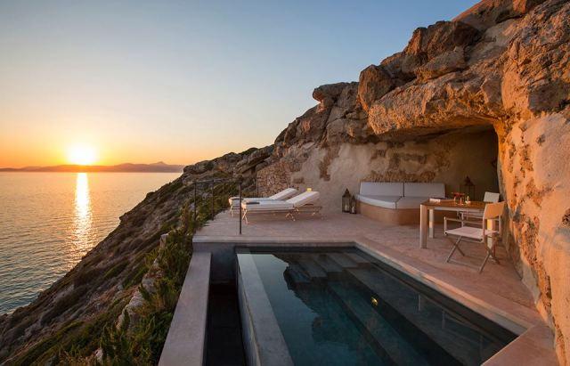 Suite Cap Rocat al tramonto