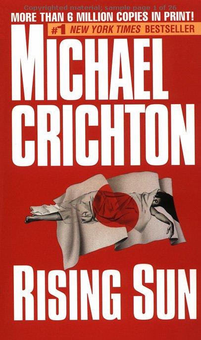 Michael Crichton – Rising Sun