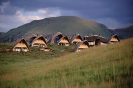 Didima Camp Chalets in the Central Drakensberg