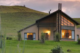 One of the chalets at Alpine Heath Resort