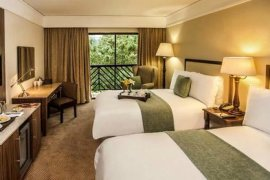 A double room at Drakensberg Sun Resort
