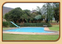 Swimming pool at Hlalanathi Resort