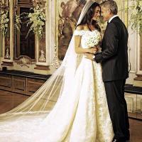 Amal Alamuddin and George Clooneys wedding | Amal Clooney ...