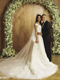 Amal Alamuddins wedding dress  the Amal effect !