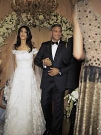 Amal Alamuddins wedding dress  the Amal effect !  Amal