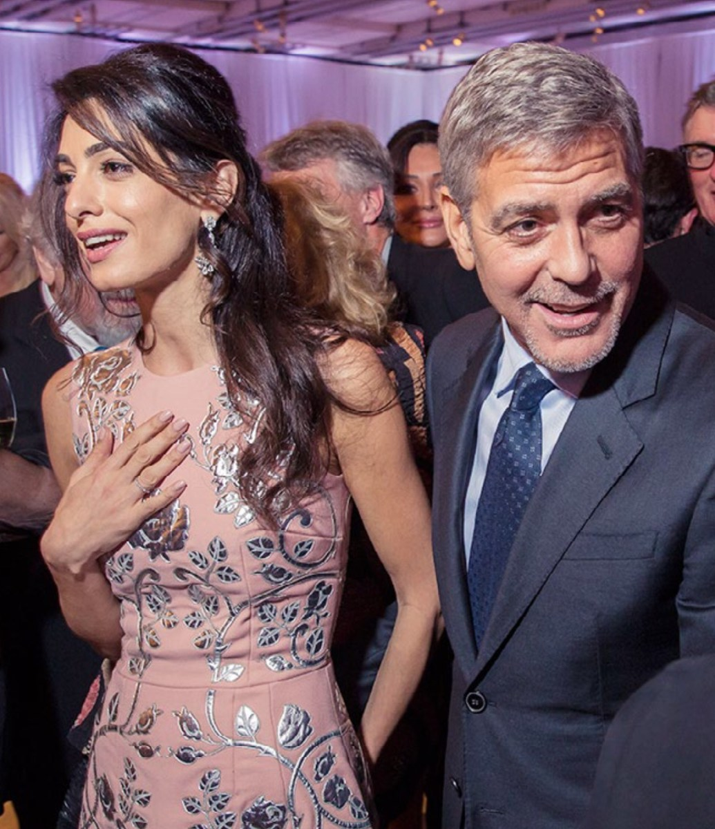 Amal Clooney In Dolce Gabbana At The Jerry Weintraub
