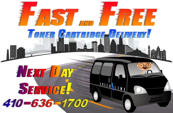 Fast and free home office toner delivery
