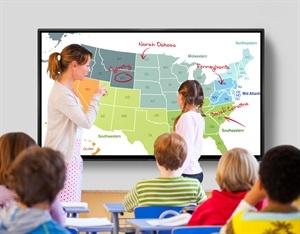 Aquos Board - Classrooms BIG screen. BIG impact.