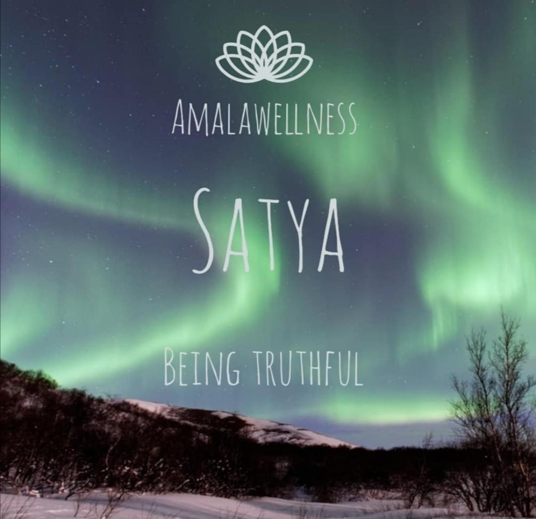satya - being truthful