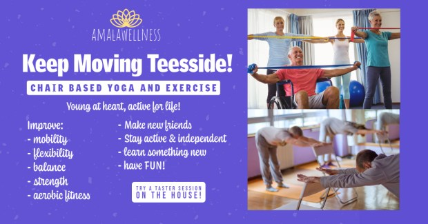 Exercise for Seniors in Middlesbrough and Stockton Teesside