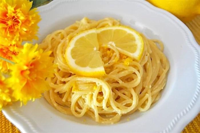 Spaghetti al Limone di Amalfi la Straordinaria Ricetta