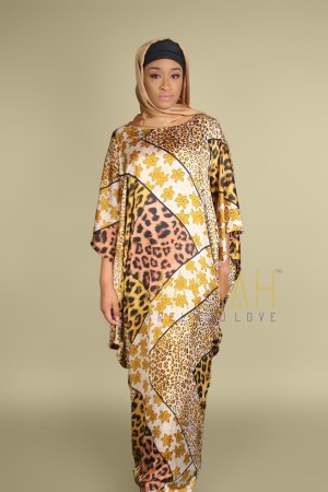 Animal Print Mix Diya Boubou (13)