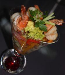 escabeche, camaron, shrimp escabeche