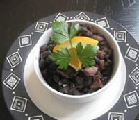 amalia Brazilian Feijoada, black beans, farofa, tasajo, beef, pork, toasted manioc