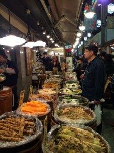 Fermented foods at market