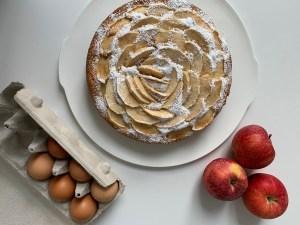 Apple Pie – Herbsttorte mit Äpfeln in Rosenform