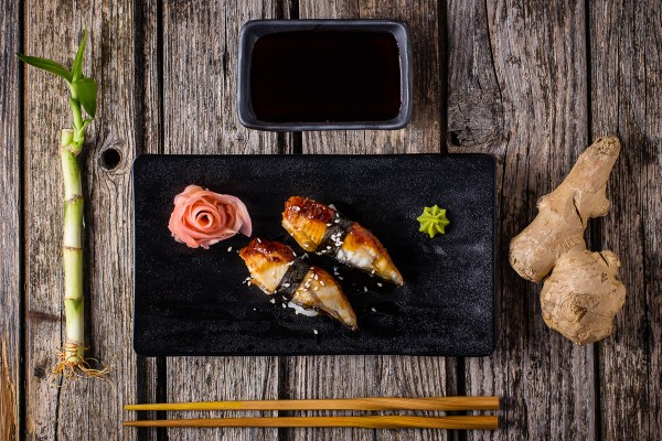 sushi food photography