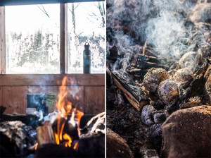 winter in Estonian forests travel photography