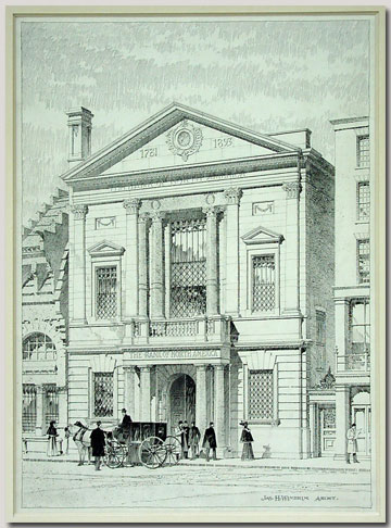 Bank of North America (drawing)