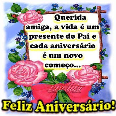Cada aniversário é um novo começo... Parabéns pelo seu dia