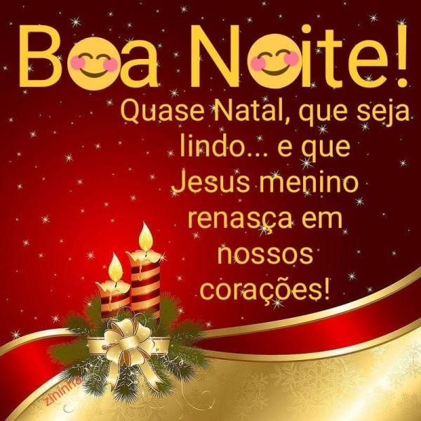 Boa noite de natal, feliz seja com saúde feliz natal