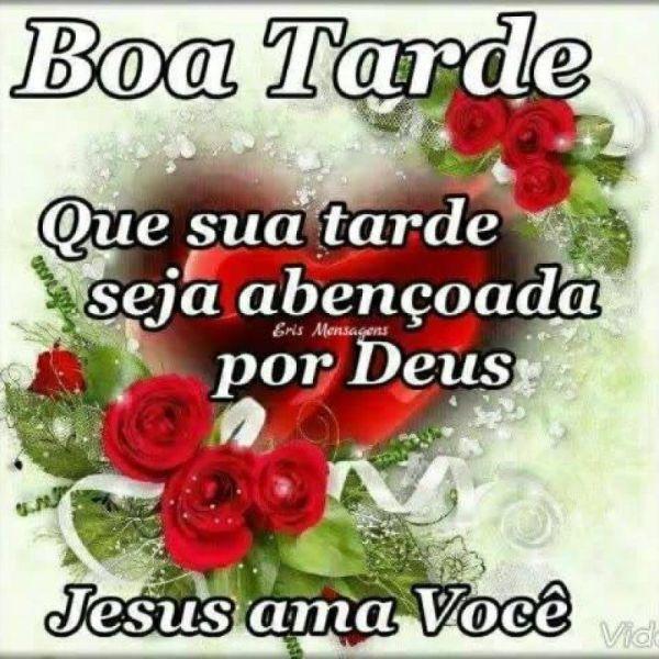 Boa tarde, Jesus ama você