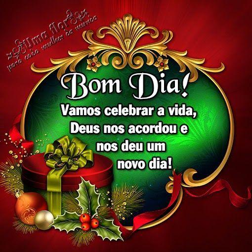 Bom dia feliz natal a todos!