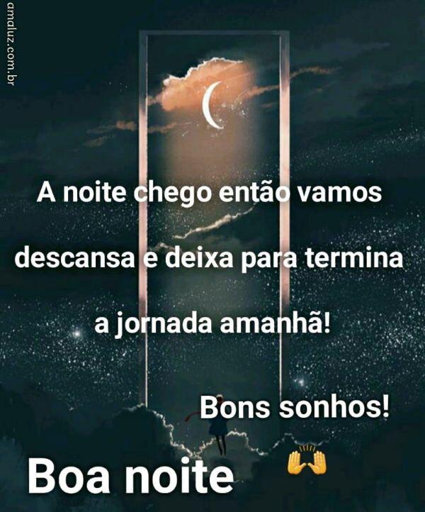 boa noite carinhosa e bons sonhos