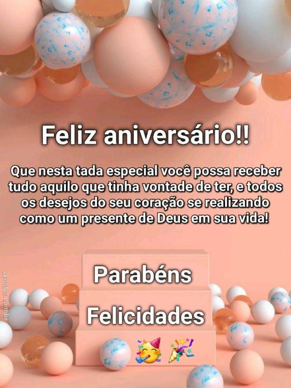 felicidades parabéns feliz aniversario