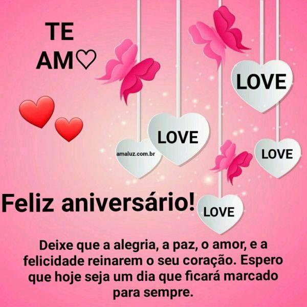 feliz aniversario amor tenha um aniversario marcante