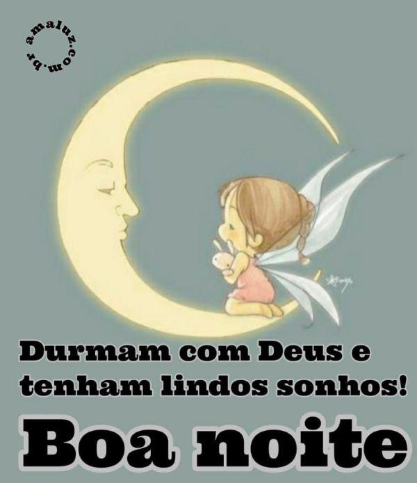 boa noite durmam com deus tenham lindos sonhos
