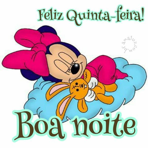 boa noite feliz quinta feira