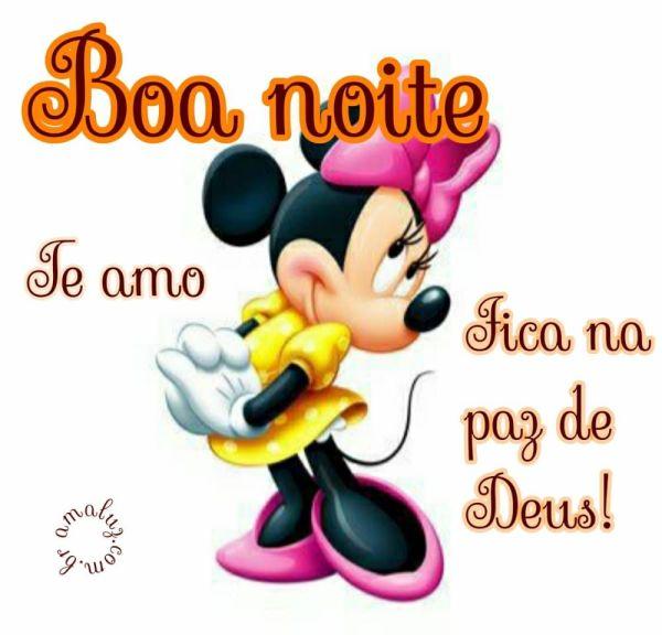 boa noite fica na paz de  deus