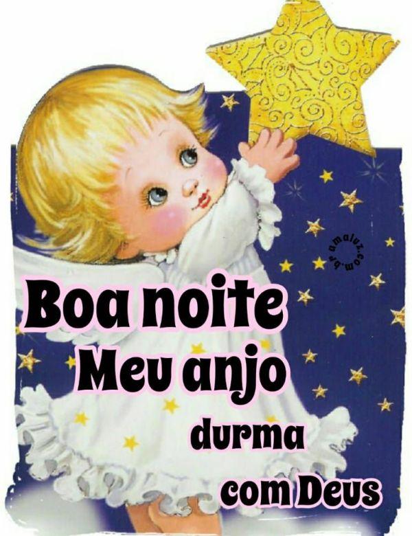 boa noite meu anjo durma com Deus
