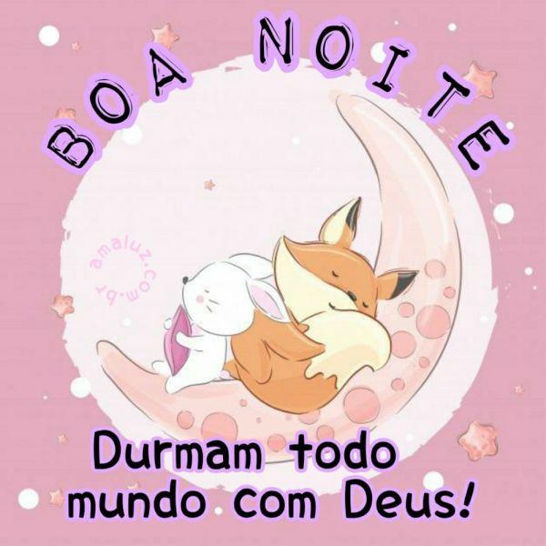 boa noite sexta feira durma todo mundo com deus