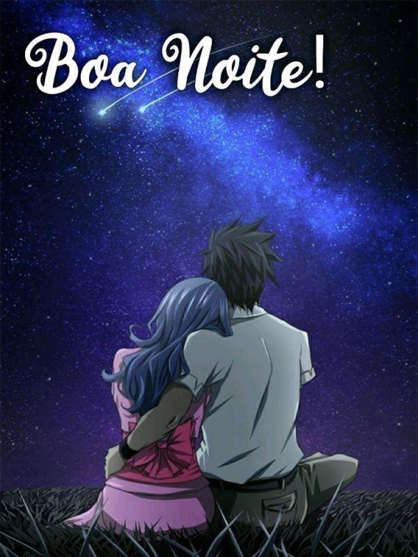 lindo casal abraçados olhando para estrelas cadentes