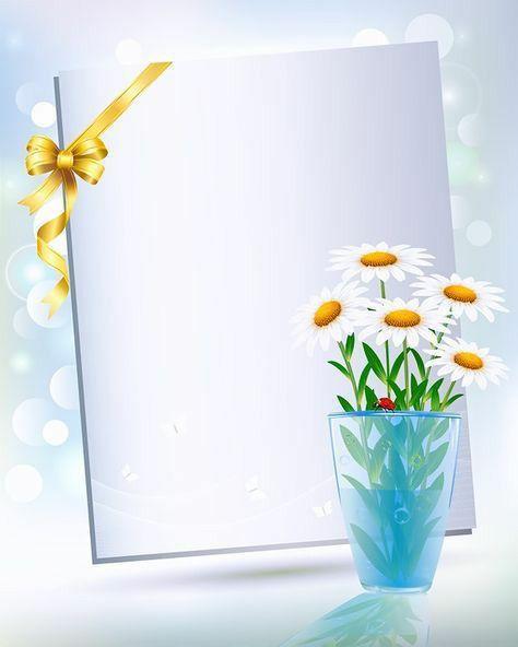 vazo de flor e um caderninho para escreve mensagem de boa noite
