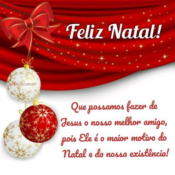 Feliz natal que possamos fazer de jesus o nosso melhor amigo